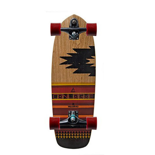 Carver Courtney Conlogue southwest style deck with C7 black trucks.