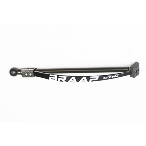 Braap with white logo