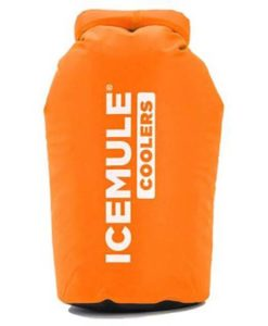 Ice Mule soaft cooler front image orange