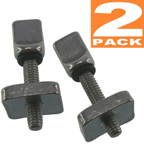 Two pack of tool-free fin screws image