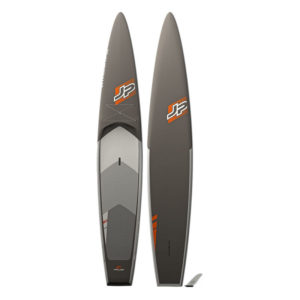 JP Australia Biax version of the AllWater GT touring SUP front and back view.
