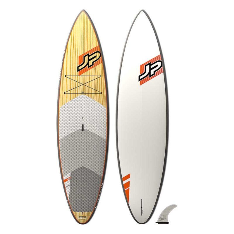 The JP Australia Hybrid wood edition front and bottom view.