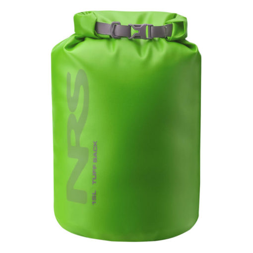NRS 15L Tuff Sack in green.