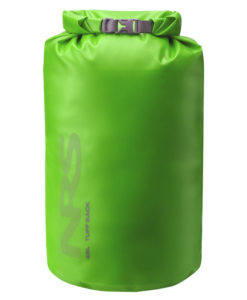 NRS 45L Tuff Sack in green.