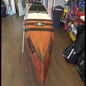 Infinity SUP 2018 Whiplash front view at Riverbound Sports.