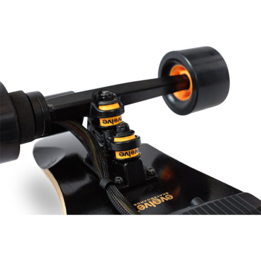 Evolve One Series Bamboo electric skateboard trucks at Riverbound Sports
