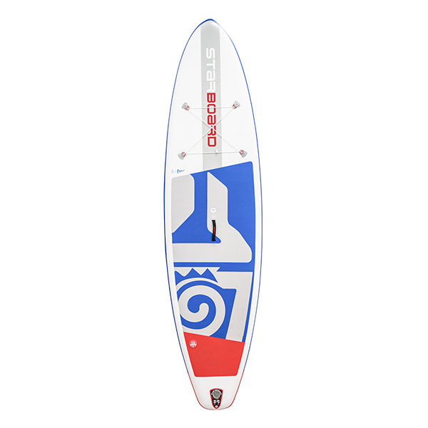 Starboard Zenlite technolgy all around inflatable SUP at Riverbound Sports
