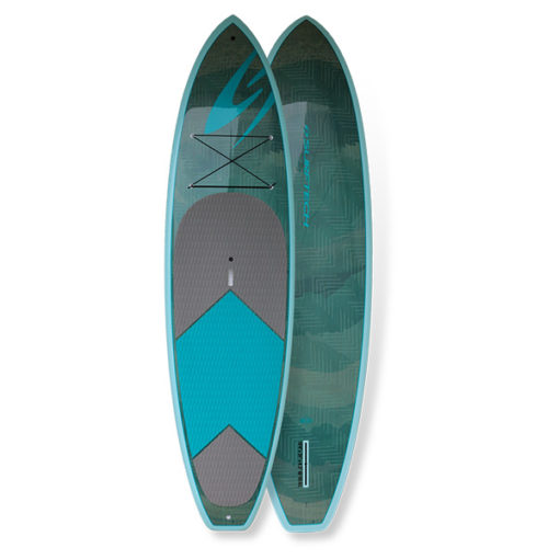 The 10'4 Surftech in blue.